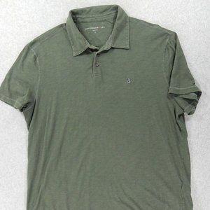 John Varvatos USA FLAG S/S Polo Shirt (Mens XL)